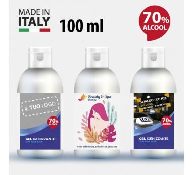 Gel liquido igienizzante personalizzato